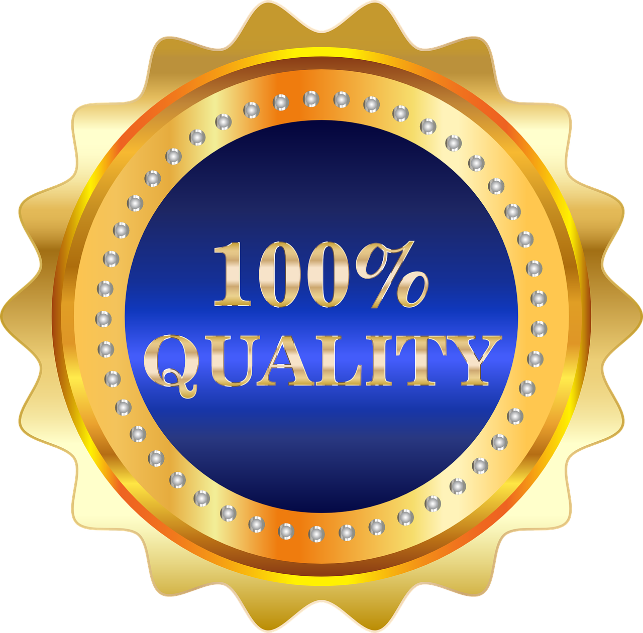 label, quality, badge